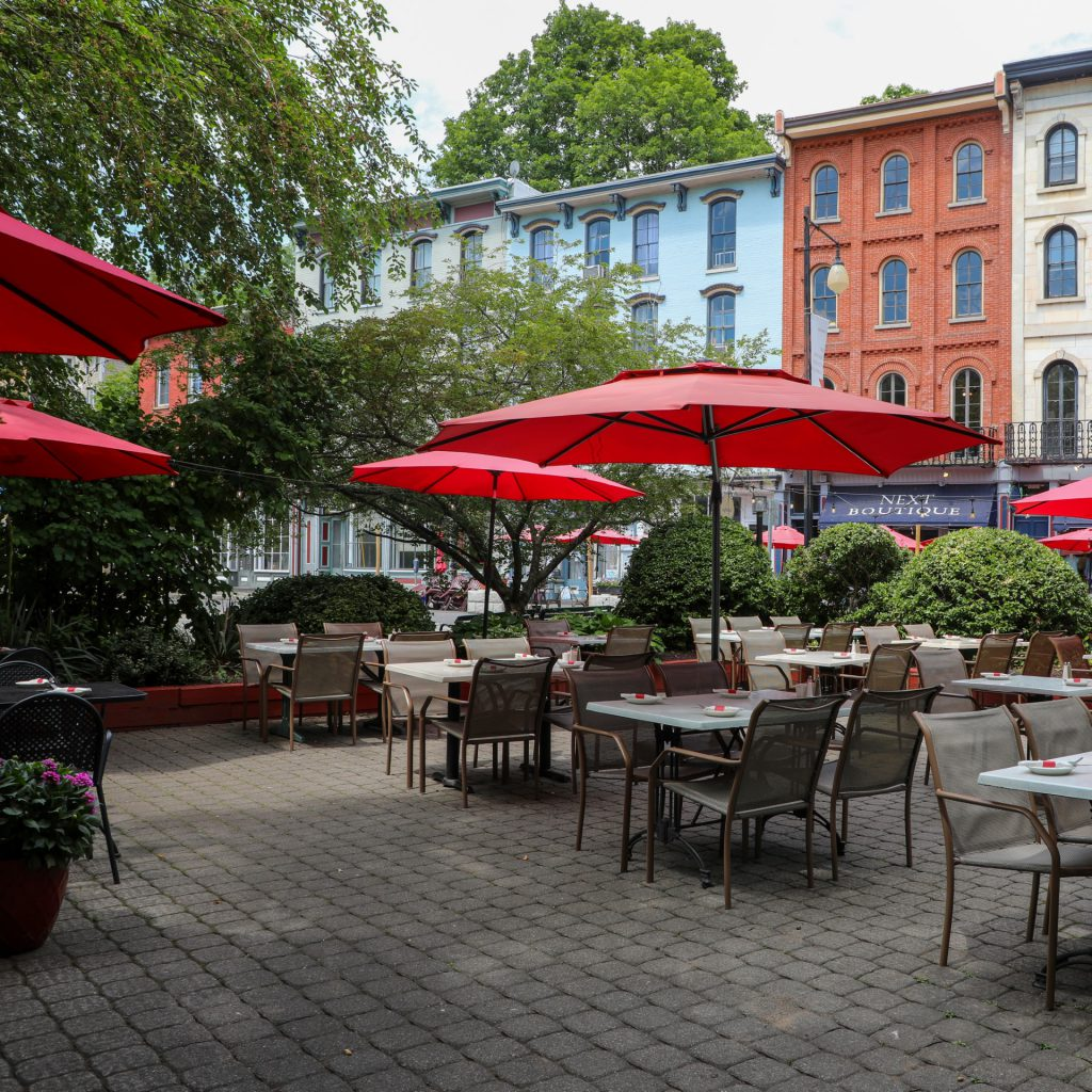 Photo of outdoor dining